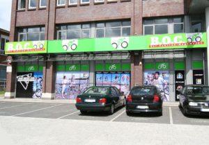 B.O.C. auf bike Hamburg Wandsbek